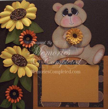 Close Up Of Beauti-Fall Bear