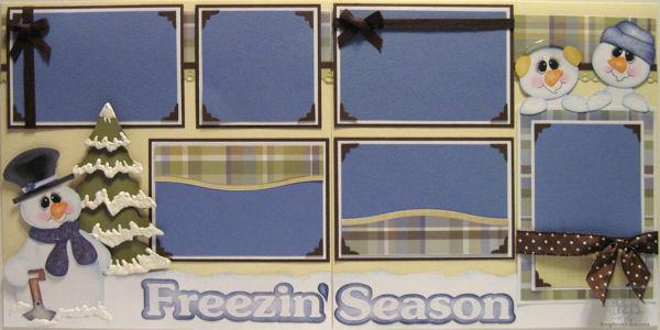 Freezin' Season Layout