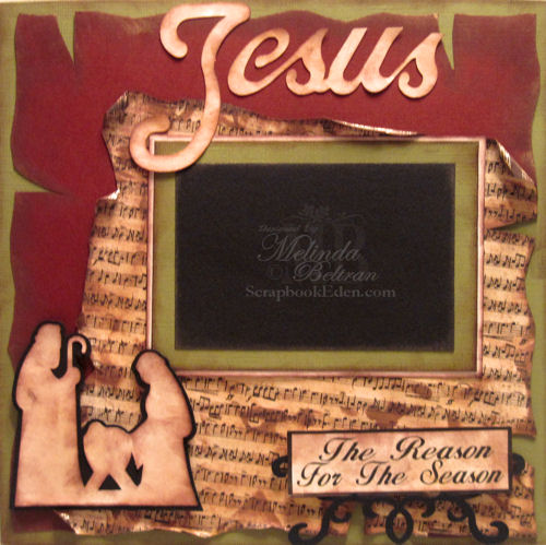 Jesus is the Reason for the Season Layout