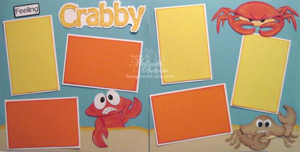 Feeling Crabby Layout