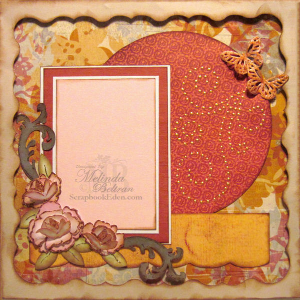 Rose One Page Layout