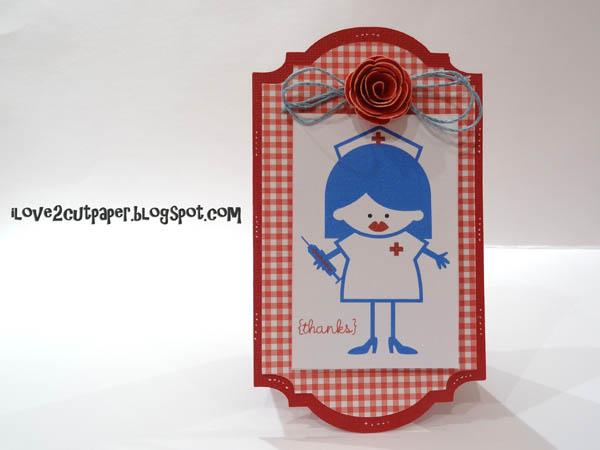 Thank you card for the nurses!