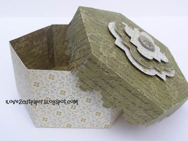 Hexagonal Decorative Gift Boxes