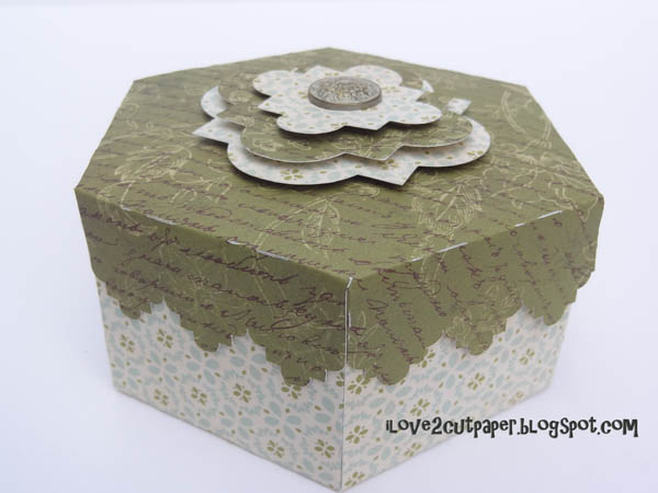 Hexagonal Decorative Gift Boxes