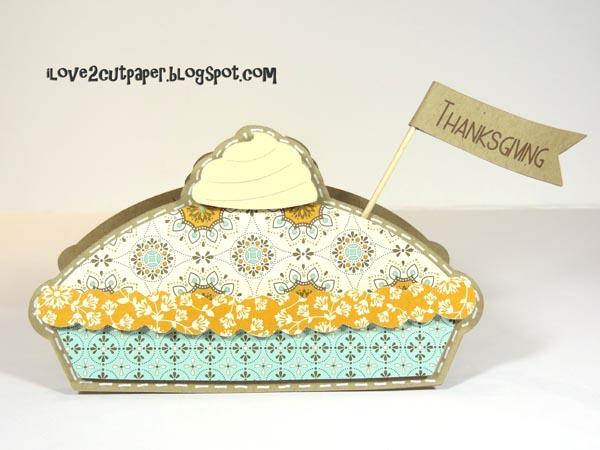 Thanksgiving Blessing Pie