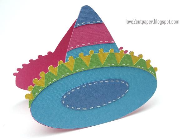 Sombrero Shaped Card
