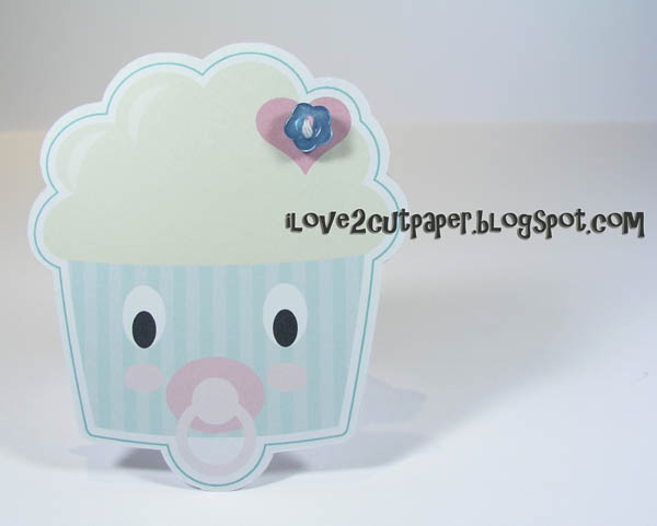 Baby Cakes Shaped cards