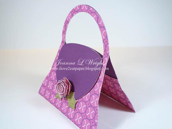 Shaped Handbag gift card