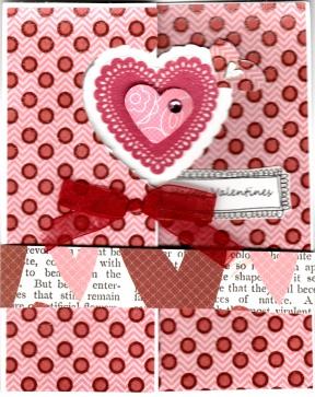 V-day flip card