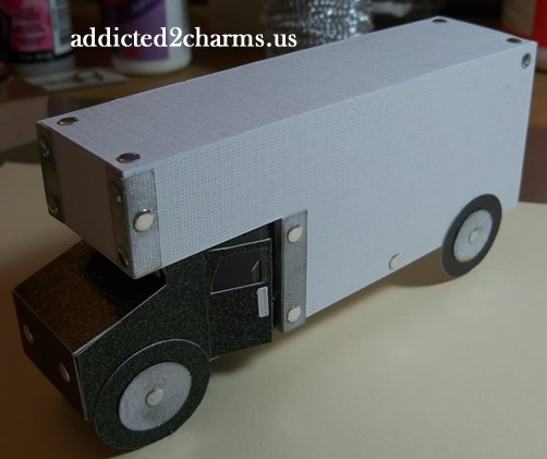 Truck Party Favor Box