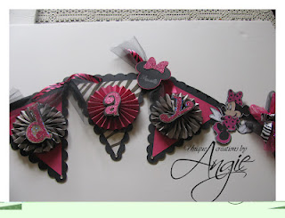 minnie mouse bday banner