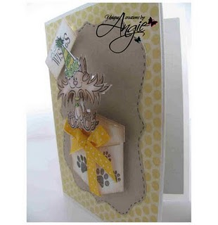 cat card side view