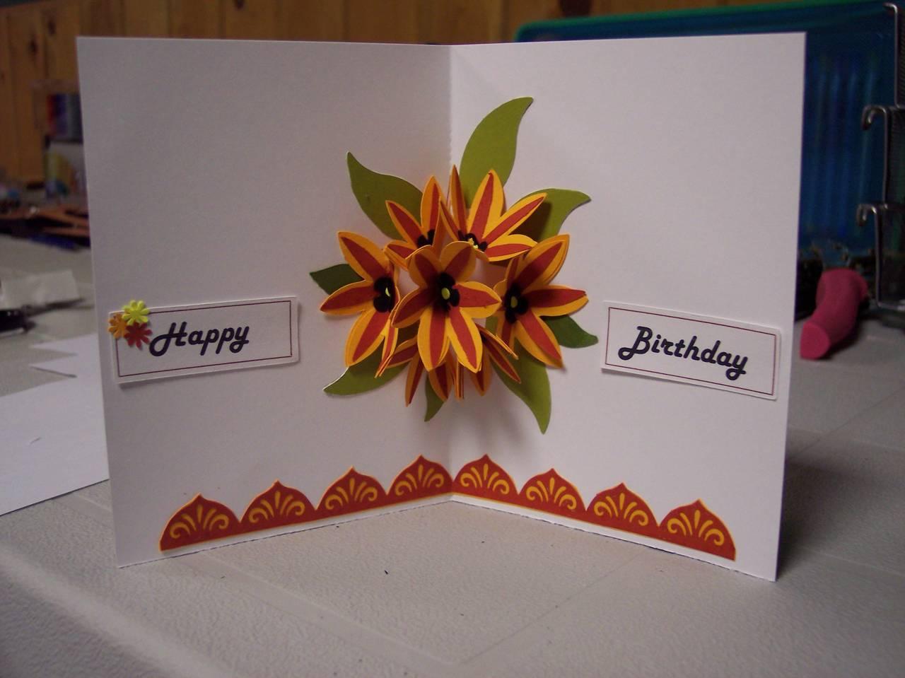 pop up insert for happy birthday card