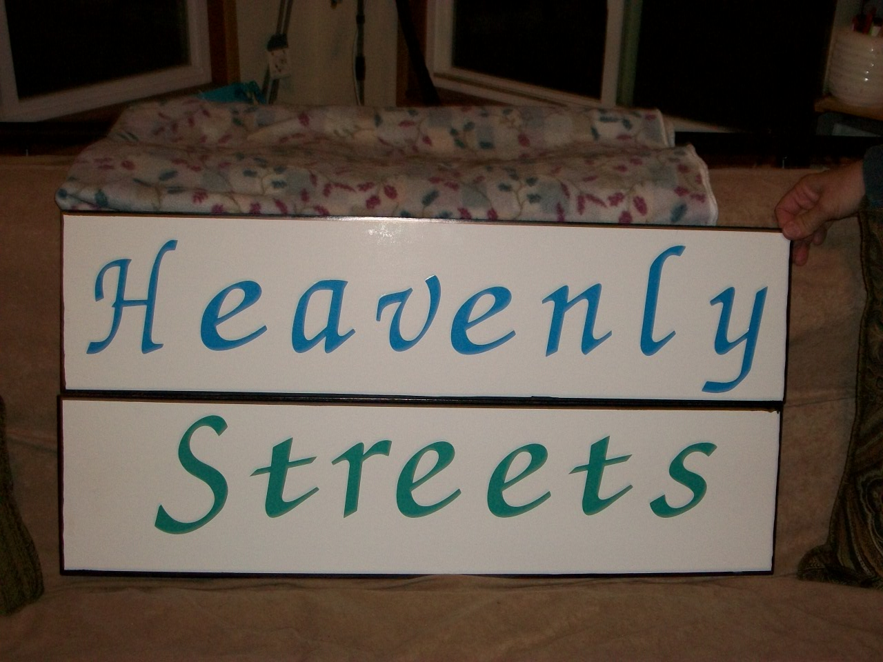 Heavenly Streets     props words