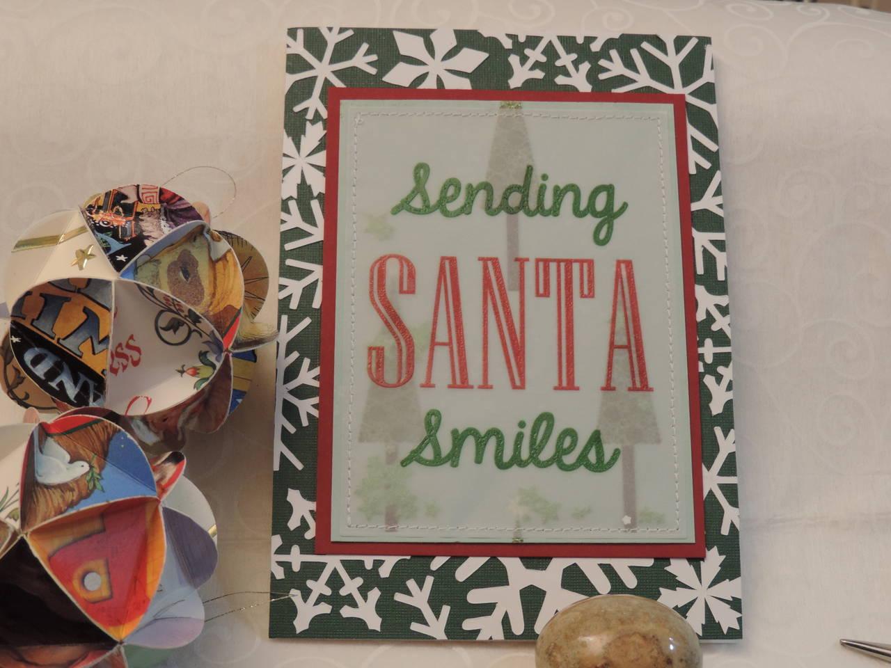 Sending Santa Smiles Card
