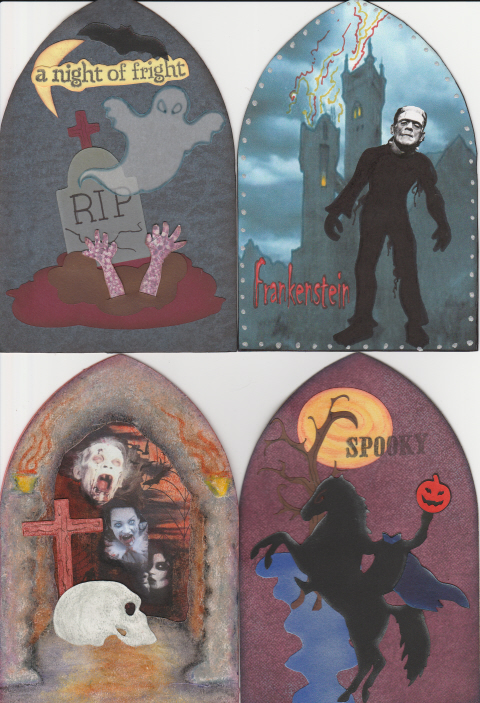Haunted Halloween Gothic Arches