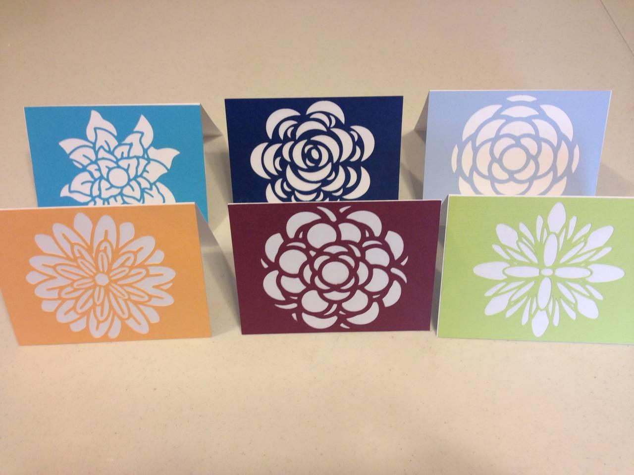 Set of 6 Stationary Cards