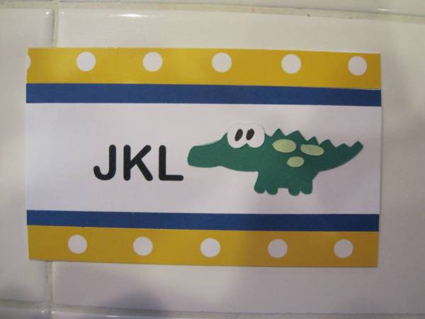 Kindergarten Library Tags