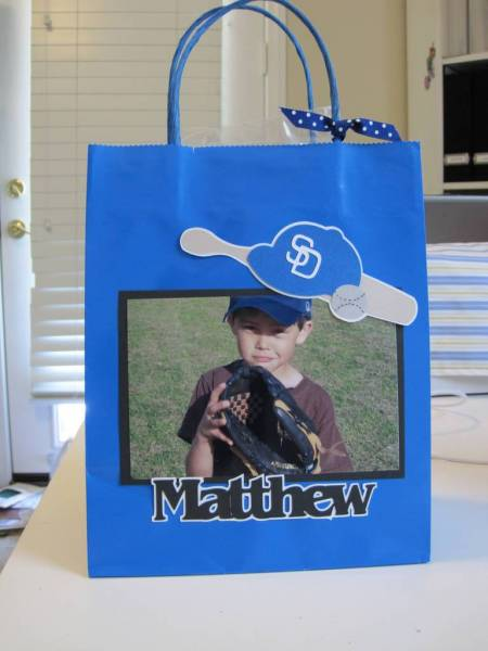 Baseball Goody Bag