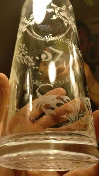 Energetic Water Glas
