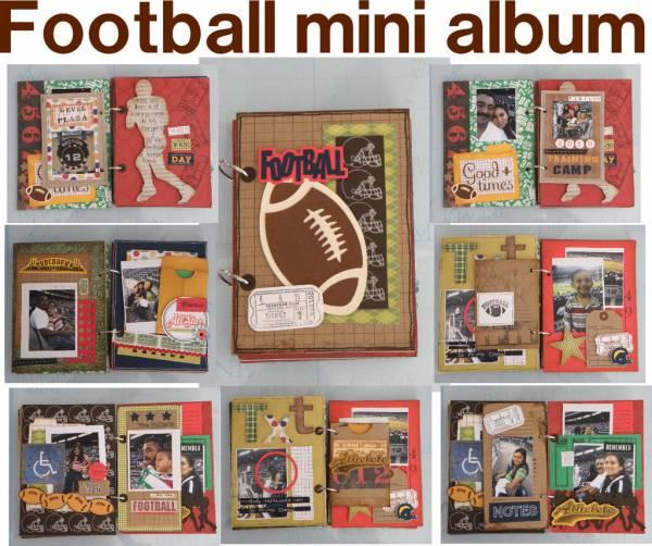 football mini album