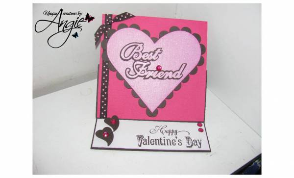 best friend valentine card Pazzles Albums – Valentine Cards for a Friend
