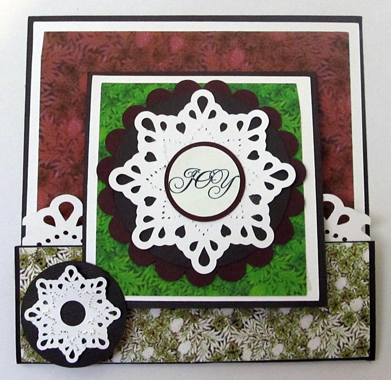 Joy Card Outside
