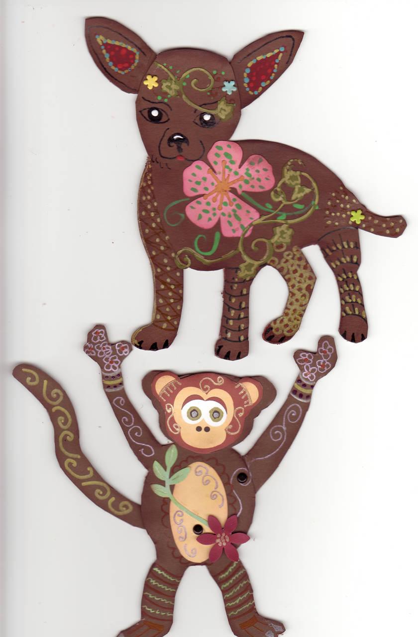 Oaxaca paper dolls