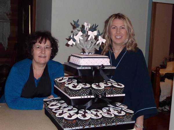 Sarah's 21st birthday cake