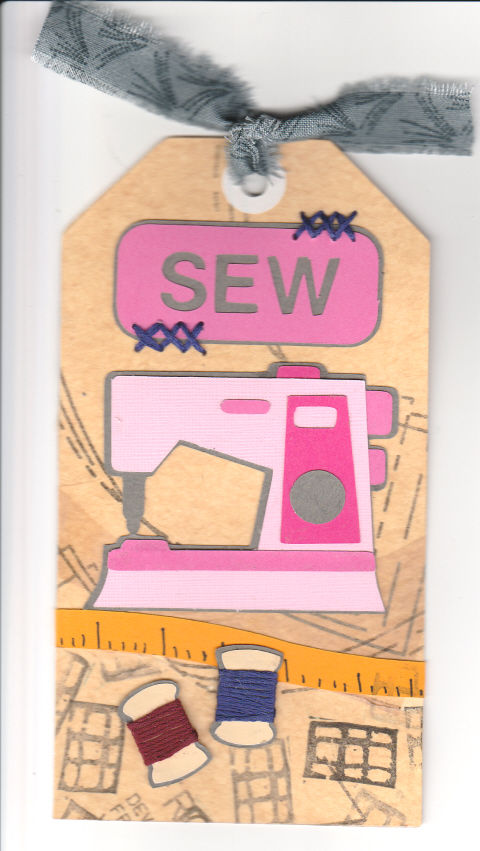 Sewing Machine tag