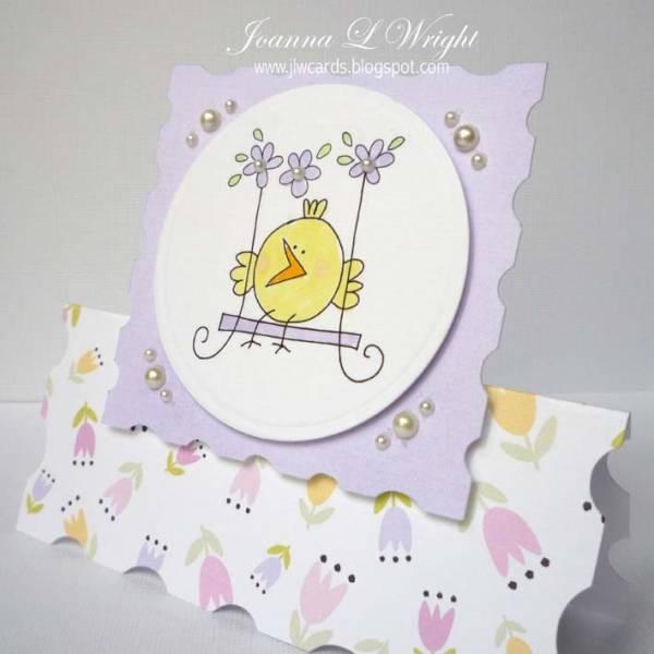 Easter Fame Shaped Card