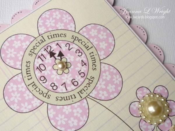 Digi Flower Clock