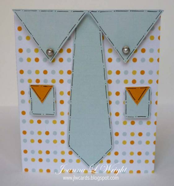 Shaped Tie and Shirt Cards