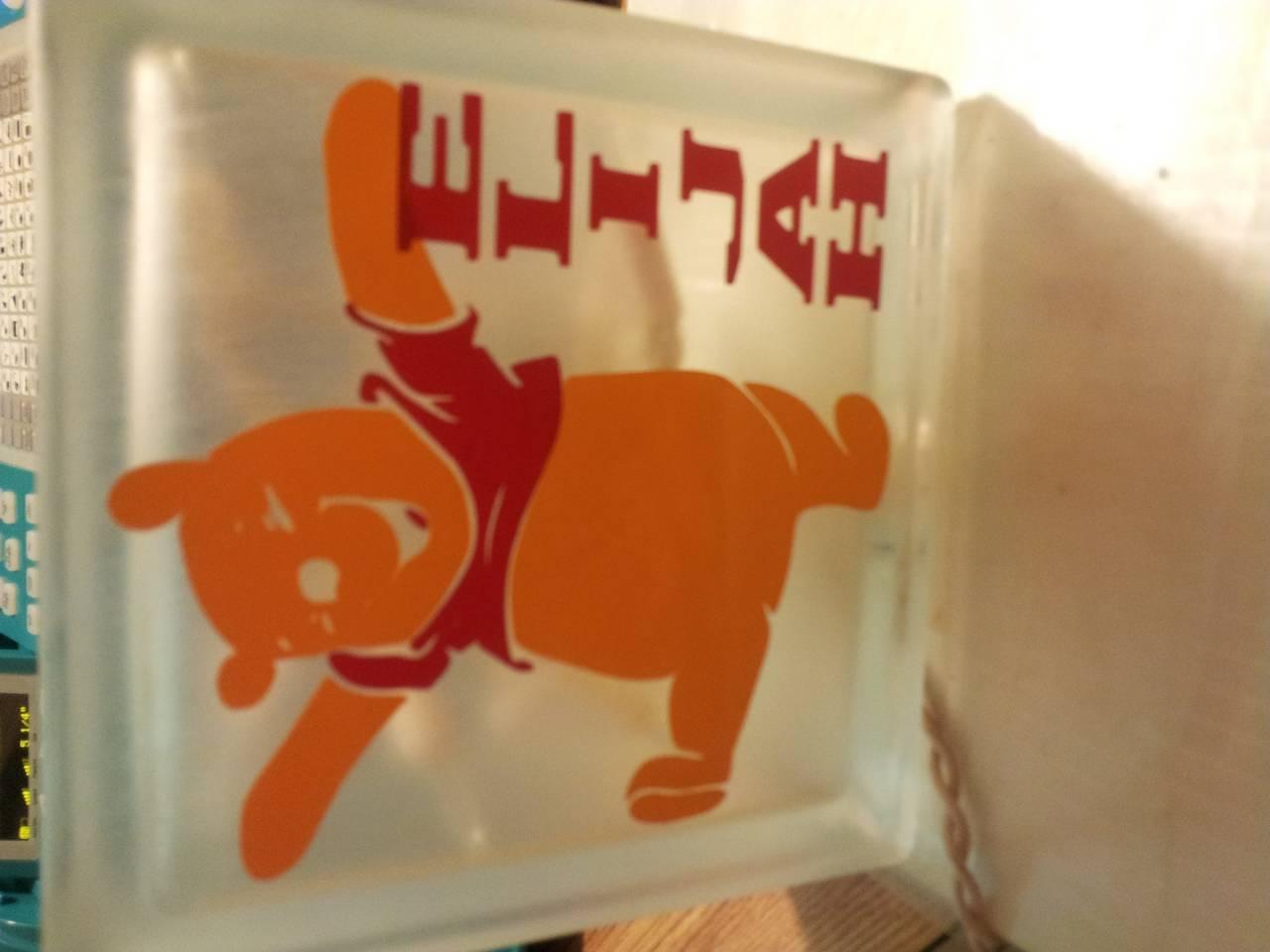 Pooh light box