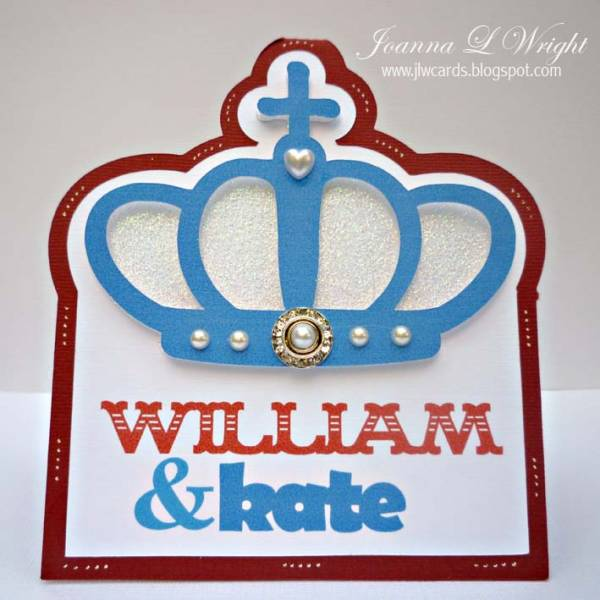The Royal Wedding Shaped Card