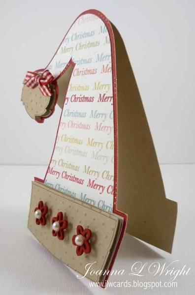 Shaped Santa Hat