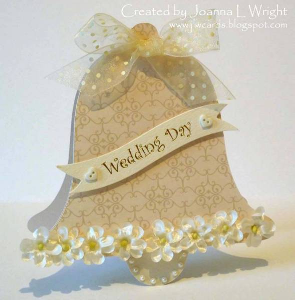 Wedding Bell Shaped Card Pazzles Albums