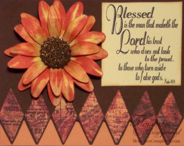 Fall Flower Card