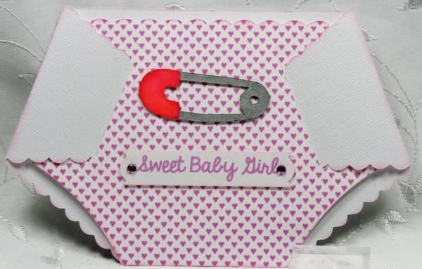 Baby Diaper Card