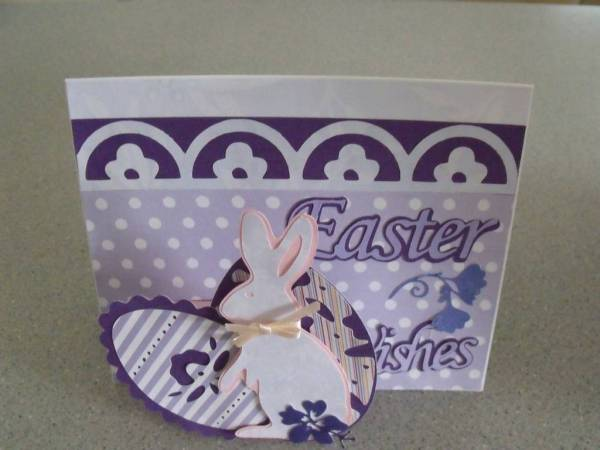 pop-up Easter Bunny Card