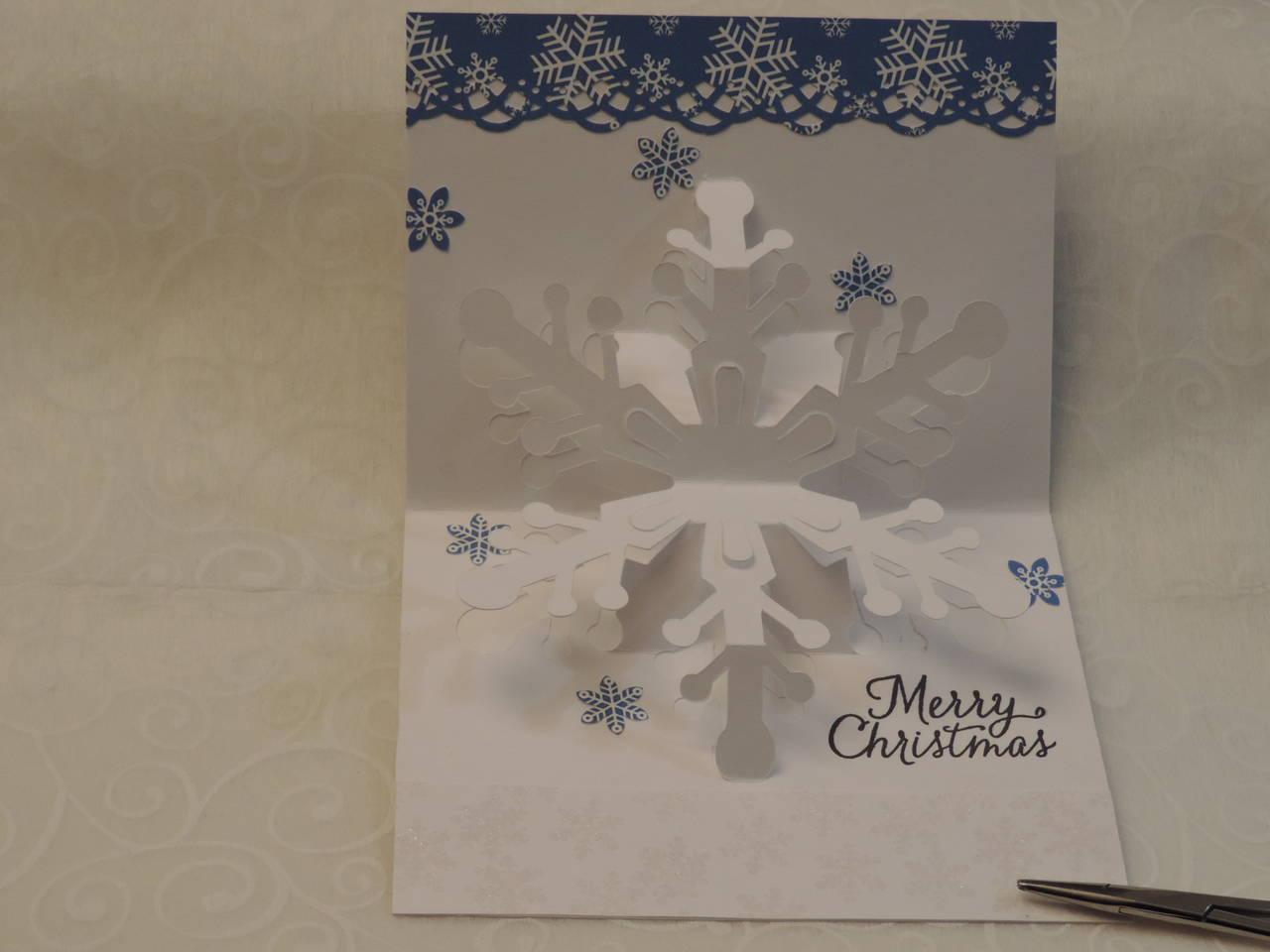 Snowy Christmas Blessings Card