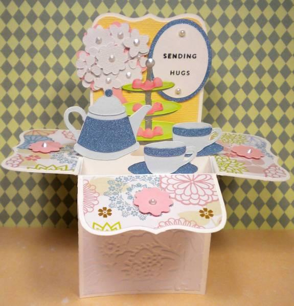 Tea Party Box Card