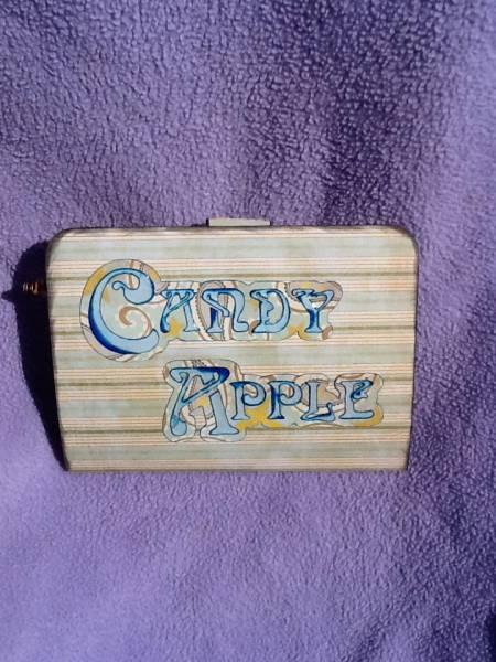 Candy Apple Twirl Pop-up Card