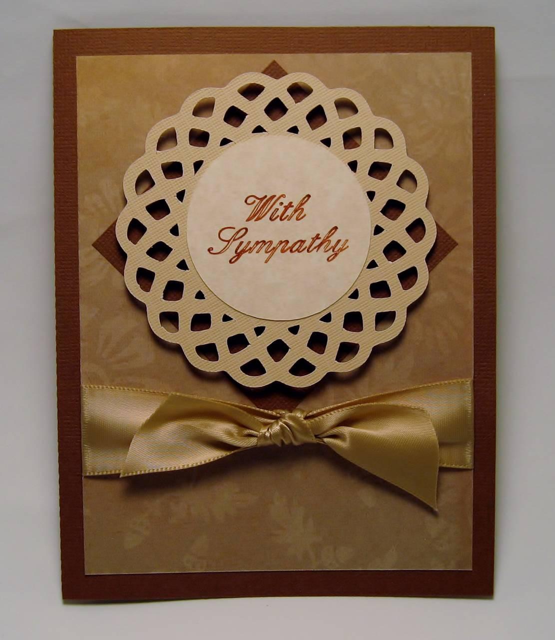Spiro Sympathy Card