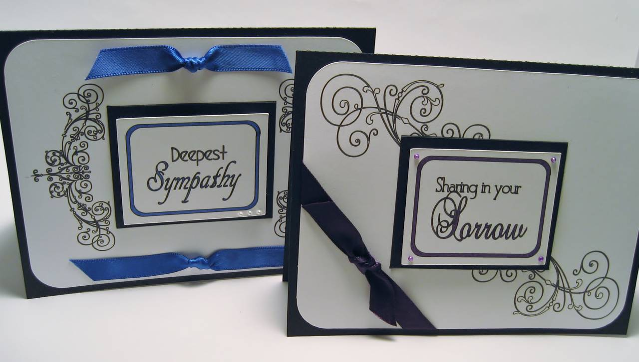 Revisit of Sympathy Cards
