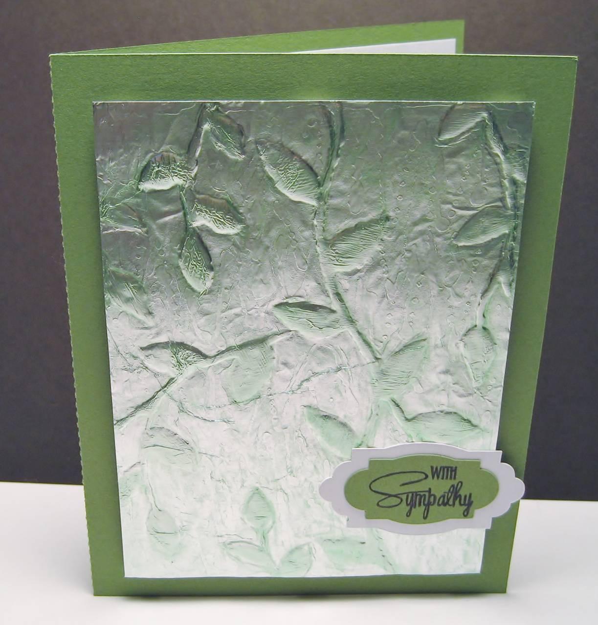 Foil Embossed Cards