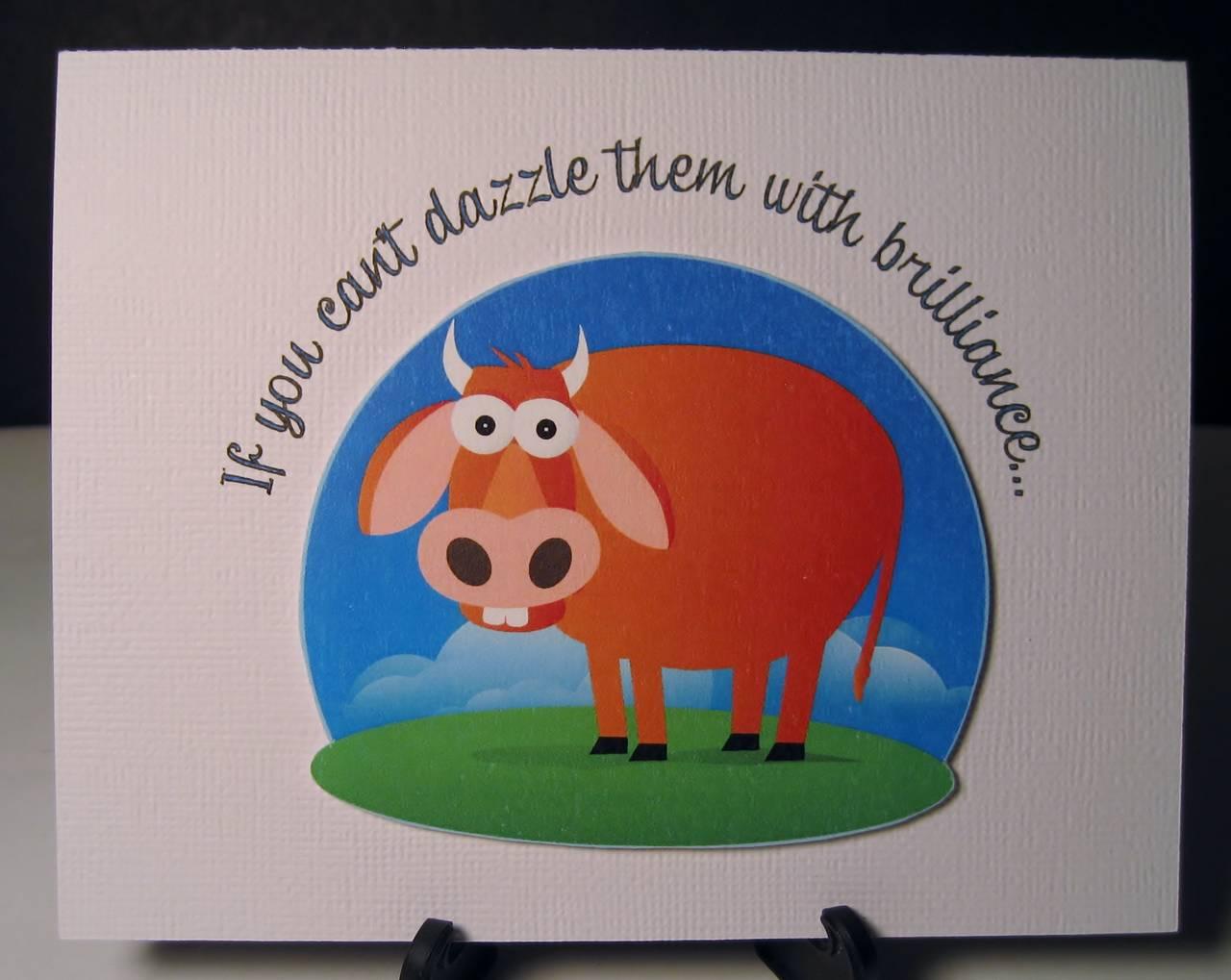 Bull Card