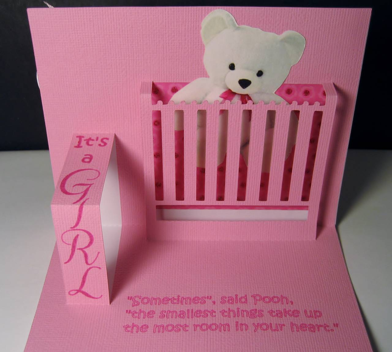 Baby Card Pop Up