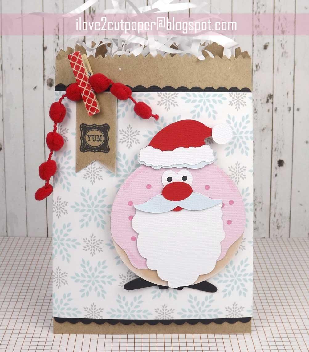 Sweet Santa Gift Bag