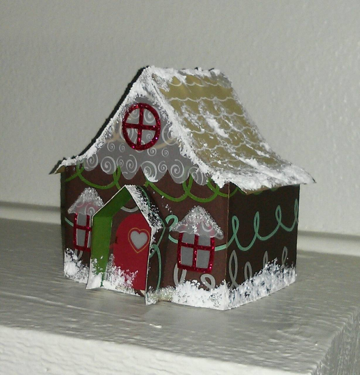 Gingerbread Village - Country Cottage - 2014